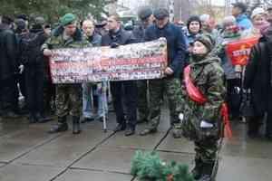 Виктор Павленко: Низкий поклон матерям солдат. В Архангельске открыт памятный знак землякам, погибшим в Афгане