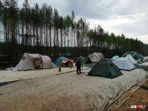Экоактивисты сообщили о визите на Шиес делегации МВД из Коми