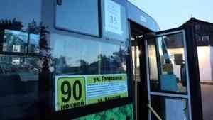 Два десятка пассажиров ежедневно используют в Архангельске новый ночной маршрут
