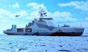 Боевой ледокол для Северного флота спустят наводу 25октября