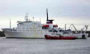 В Архангельск из экспедиции в Арктику вернулось судно «Академик Мстислав Келдыш»