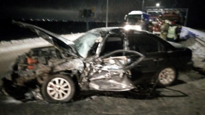 Близ Котласа столкнулись иномарка и рейсовый «ПАЗ»: есть пострадавшие