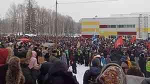 «Шиес — это имя собственное»: онлайн-трансляция митинга в Сыктывкаре