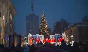 Первую новогоднюю ёлку вАрхангельске откроют 23ноября