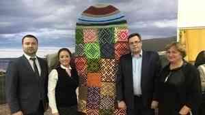 В Новодвинске при поддержке Фонда президентских грантов открылся Музей поморской варежки