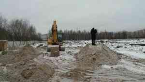 Строительство ФОКа в Архангельске идет с отставанием от графика