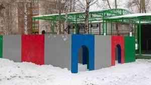 В Архангельске на стадионе «Труд» началось обустройство зимнего городка