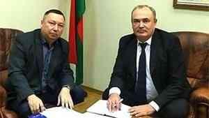 Управляющий «Поморской Ярмарки» встретился с руководителем посольства Белоруссии в России