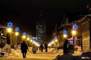 Праздник к нам приходит: чем центр Архангельска украсят к Новому году