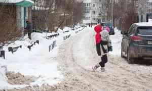 Надорогах Архангельска— снежный коллапс: горожане жалуются напоследствия снегопада