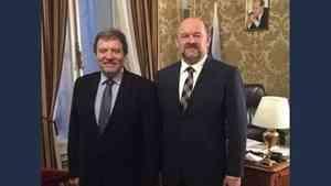 Игорь Орлов обсудил вопросы торгово-экономического сотрудничества с торгпредом РФ в Австрии