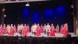 Северный хор дал концерт в Германии