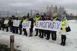 Жители Котласа вышли на пикет против строительства линии электропередачи до Шиеса