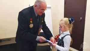 В День Героев Отечества представители управления Росгвардии по Архангельской встретились со школьниками