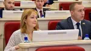 Игоря Арсентьева в областном Собрании сменила Елена Сидорова