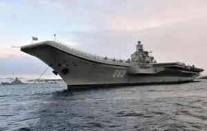 Три человека пострадали во время пожара на крейсере «Адмирал Кузнецов»