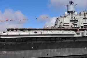 Во время пожара на авианосце «Адмирал Кузнецов» погиб военный