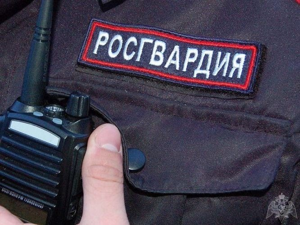Сотрудники Росгвардии задержали подозреваемого в краже