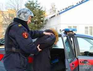 В Архангельске сотрудники Росгвардии задержали подозреваемую в совершении кражи сотового телефона у подруги