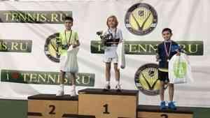 Юный архангельский теннисист взял бронзу на турнире в Москве