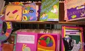 Вархангельской Добролюбовке открылась выставка лучших работ конкурса для детей «Книга своими руками. Секреты здоровья»