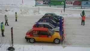В Вельском районе завершился этап Кубка России по ледовым гонкам