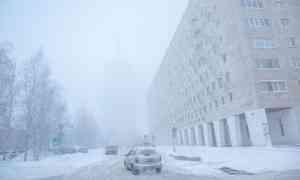 23января вАрхангельске прогнозируют похолодание до−6°С