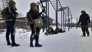 В Каргополе состоялась военизированная эстафета «Внуки Маргелова»