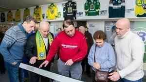 В честь 95-летия «Водника» в Архангельске открыта выставка «Порт и спорт»