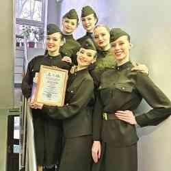 Ансамбль САФУ «La Jeunesse» стал лауреатом X фестиваля «Помним. Гордимся. Верим»