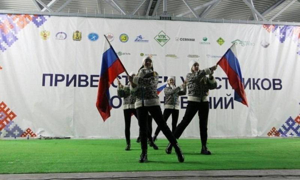 ВУстьянском районе прошла церемония открытия финала Кубка России полыжным гонкам