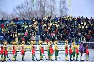 Архангельский «Водник» занял третье место на Чемпионате России по хоккею с мячом