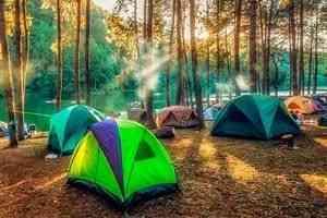 Рост производства туристических палаток на фоне снижения числа зарубежных турпоездок
