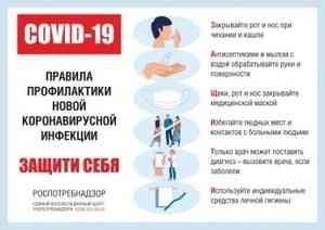 Информация для населения по защите от коронавируса