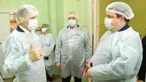 Александр Цыбульский оценил готовность центра инфекционных болезней к приему пациентов с коронавирусом