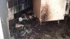 В Котласском районе пожарные вывели из общежития десять человек