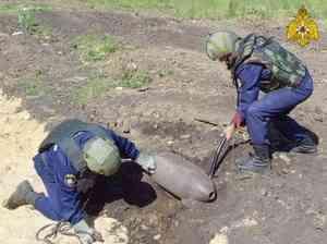 Орловские спасатели обезвредили взрывоопасные предметы