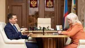 Александр Цыбульский поддержит создание центра арктической медицины