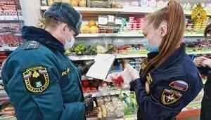В Зауралье сотрудники МЧС России доставляют пенсионерам и ветеранам продукты и лекарства