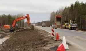Александр Цыбульский проинспектировал обновленный участок трассы М8