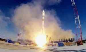 Сегодня скосмодрома «Плесецк» успешно стартовала ракета-носитель «Союз-2.1 Б»