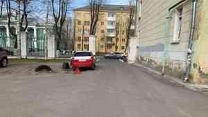 В Северодвинске женщина-водитель сбила велосипедиста
