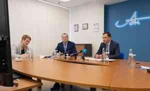 Александр Цыбульский посетил флагман ЛПК региона— Архангельский ЦБК
