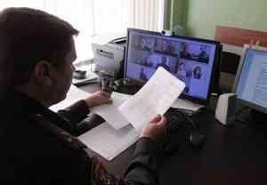 В Архангельске в режиме видеоконференцсвязи прошли сборы специалистов инженерно-технических подразделений областного управления вневедомственной охраны