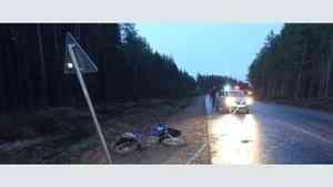 В Пинежском районе погиб мотоциклист