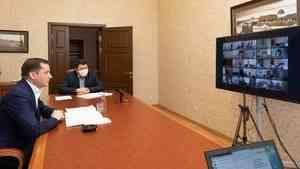 Встречи главы региона с врачами Поморья в формате ВКС становятся регулярными