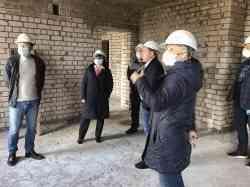 Строители возводят уже 5 этаж общежития в Северодвинске