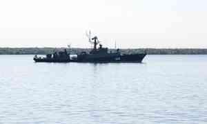 Малый противолодочный корабль БВМБ завершил учения вБаренцевом море