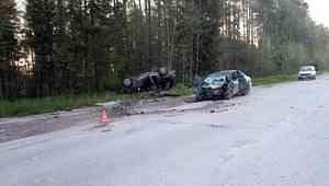 В Плесецком районе один человек погиб в результате аварии на «встречке»