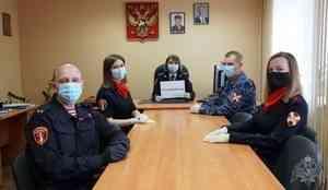 Управление Росгвардии по Архангельской области продолжает участвовать во всероссийской акции «Спасибо, доктор!»